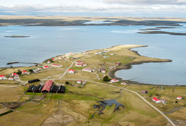 Goose Green Settlement, Falkland Islands - Copyright Terry Mooney