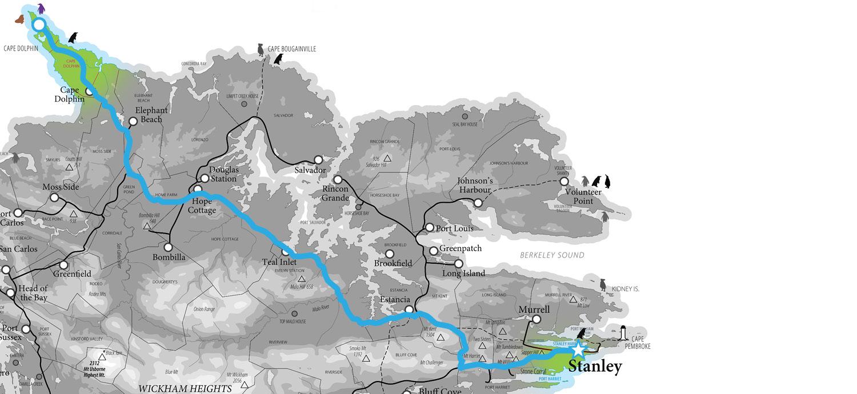 Tour Maps Cape Dolphin Point